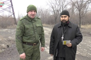 Гуманитарная помощь одиноким старикам Луганска