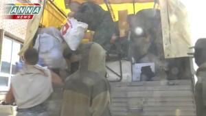 Отчет о доставке очередной партии гуманитарной помощи и снаряжения в Луганск