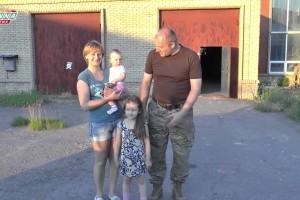 Фонд помощи Новороссии передал жителям Луганска адресные посылки, собранные Эстонской НКО «Добросвет».
