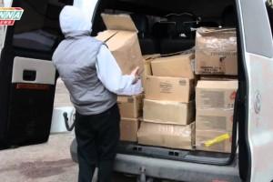 Гуманитарная помощь для одиноких стариков доставлена в Луганск