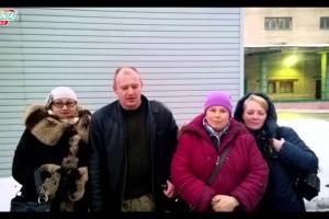 Гуманитарная помощь одиноким старикам Луганска от форума Урсы