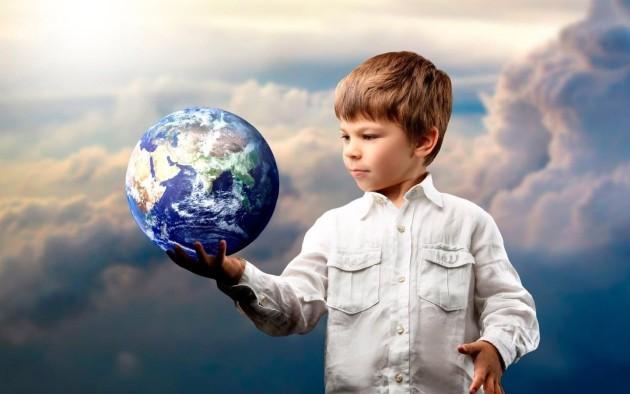 дети планета земля