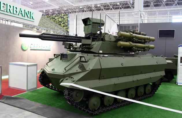 Боевой_многофункциональный_робототехнический_комплекс_Уран-9