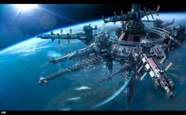 космическая станция россия