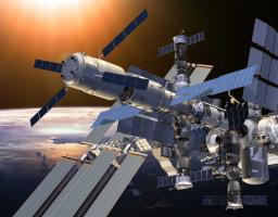 росс космос станция